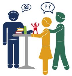 Beratung und Austausch